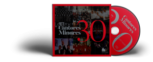 CD Cantores Minores 30 lat / Years